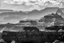 A View Of The Colorado River From Lipan Point At Grand Canyon, Arizona, USA