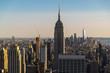 General view of Manhattan, New York city