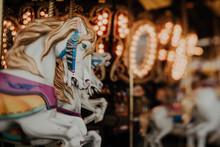 Horses On A Carousel