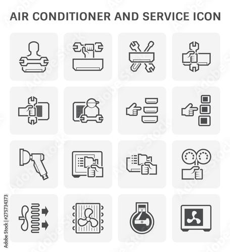 Fotografía  air conditioner service