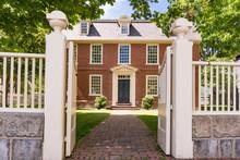 Historic Derby House In Salem, Massachusetts