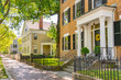 canvas print picture - Historic Homes in Salem, Massachusetts