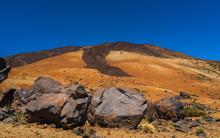 View Of El Teide Volcano National Park In Tenerife