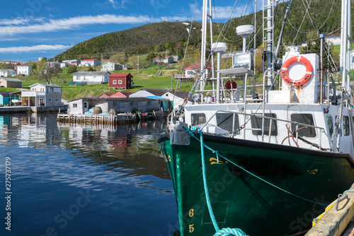 Fototapeta Woody Point Fishing Village in Newfoundland