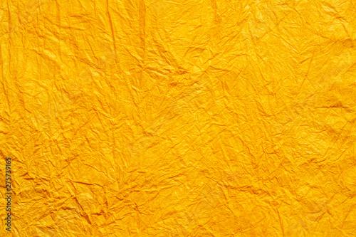 オレンジの和紙 Fototapet