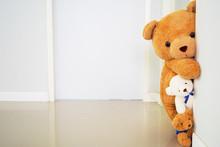 Teddy Bear Group Standing Behi...