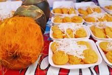 Thai Sweet Toddy Palm Cake