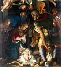 Nativity, Adoration Of The She...