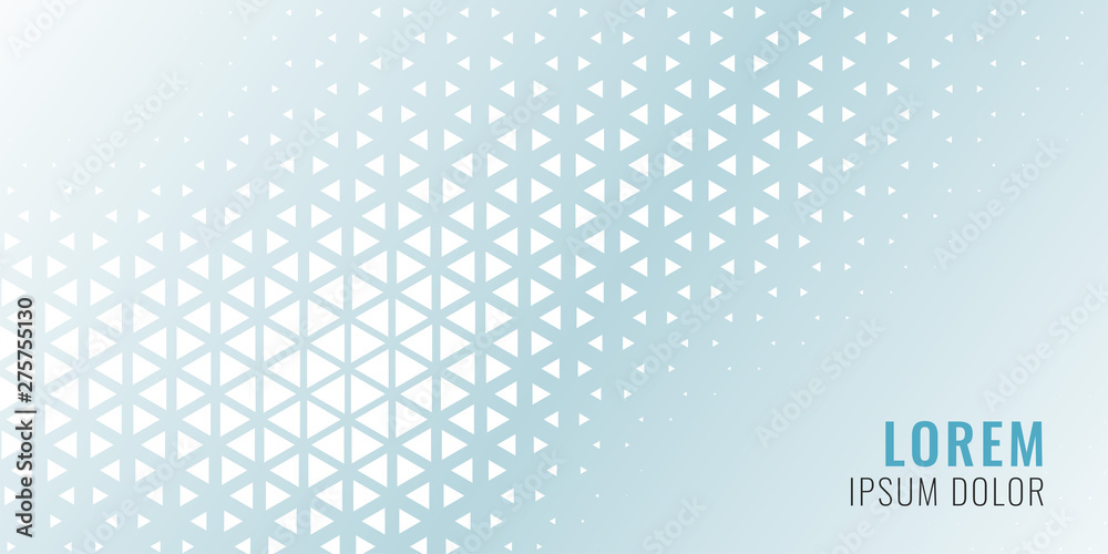 Fototapety, obrazy: abstract triangle pattern banner design