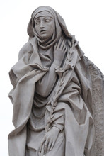 Statue Of Saint Catherine Of S...