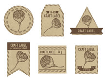 Craft Labels With Lotus