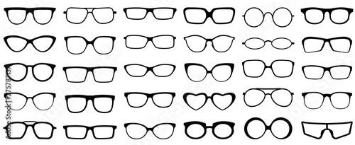 Fotografía Glasses silhouette