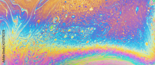 Colorful oil slick art abstract background backdrop rainbow photo texture design