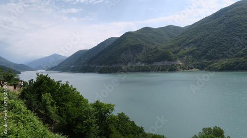 Foto op Aluminium Zee / Oceaan the charming and extraordinary nature of Georgia