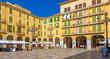 canvas print picture - Plaza Major in Palma de Mallorca