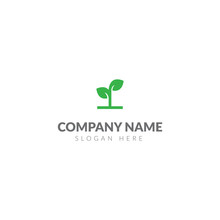 Plant Logo Or Icon Template Ve...