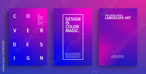 Fototapety, obrazy: Geometric covers design. Future Web pattern vector with colorful gradients. Geometric pattern cover. Eps10 vector.