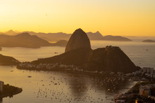 Dawn In The City Of Rio De Jan...