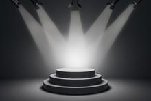 Modern Illuminated Podium