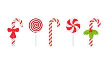 Candy Cane. Vector. Christmas ...