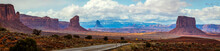 Monument Valley Navajo Tribal Park , Arizona, Utah, USA
