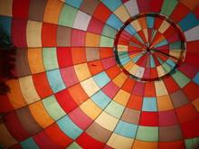 Inside An Inflating Hot Air Balloon