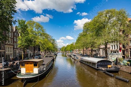 Photo  Amsterdam canals