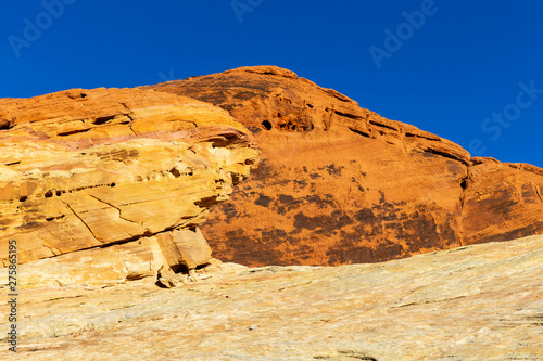 Desert Mountain Views Near Valley Of Fire in Overton, Nevada
