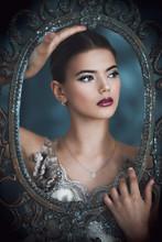 Portrait Of Beautiful Stranger