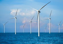 Wind Turbine Farm Power Genera...