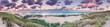 Panorama vom Strand am Ellenbogen Sylt