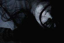Woman Ghost Horror Creepy Clos...