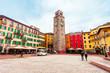 Riva del Garda town, Italy