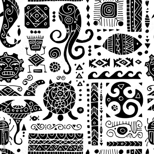 etniczny-handmade-ornament-bezszwowy-wzor-dla-twoj-projekta-styl-polinezyjski