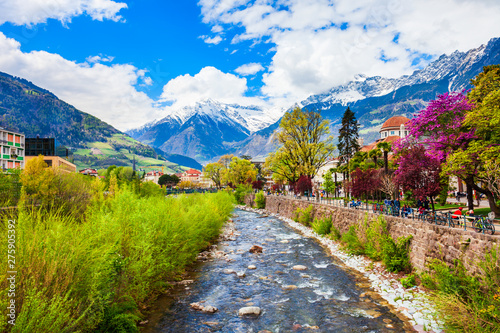 Fotografie, Obraz  Merano or Meran, South Tyrol