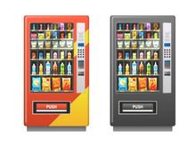 Vending Machine. Snacks Sandwi...