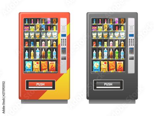 Vászonkép Vending machine
