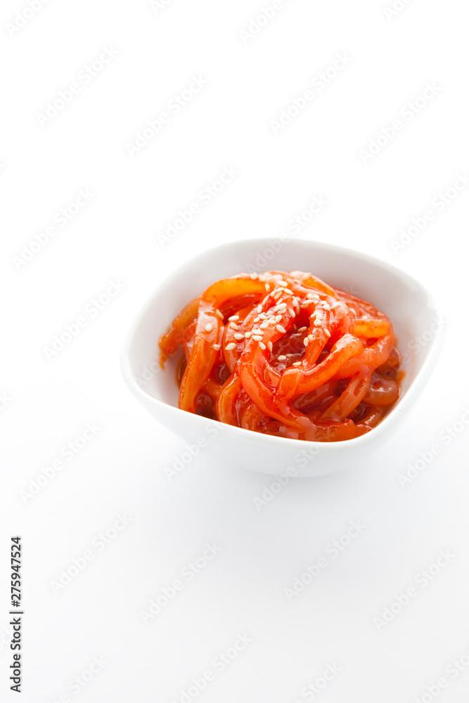 Fototapety, obrazy: Korean traditional salted fish.