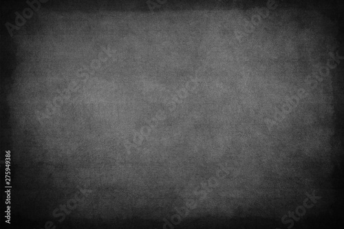 Black Board Texture or Background Canvas Print