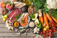 Healthy Food For Balanced Flex...