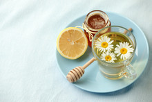 Chamomile Flowers And Chamomil...