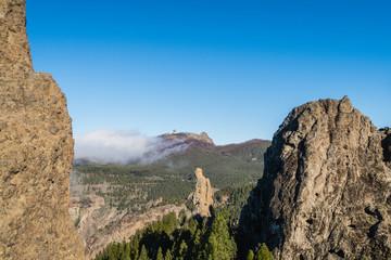 View to Pico de las Nieves