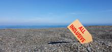Tag Sulla Spiaggia Con Il Test...