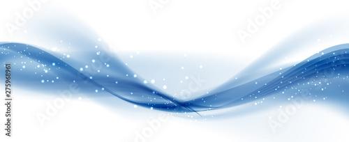 Obraz Abstract Colored Wave Card Set Background. Vector Illustration - fototapety do salonu