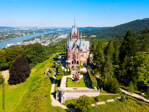 Canvas Prints Countryside Schloss Drachenburg Castle near Bonn