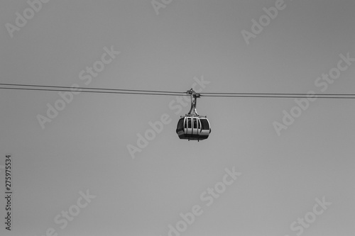 Fotografia  Cable car in Lisbon Portugal