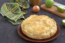 A Hearty Pie With Potatoes, Ap...