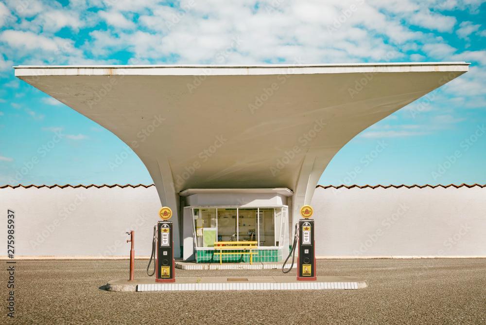 Fototapety, obrazy: Retro Tankstelle