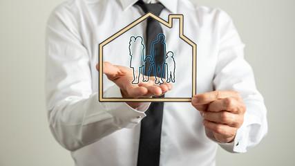 Obraz na SzkleSafety and insurance concept