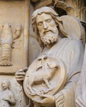 Statue Of Saint John The Bapti...